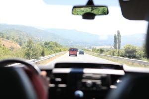 Driving in Macedonia