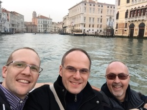 In Venice with Petr & Rick