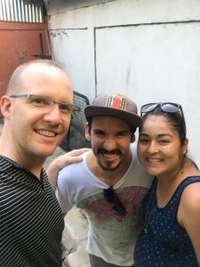 Casey with Tony & Rossela